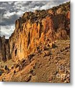 Oregon Climbers Paradise Metal Print