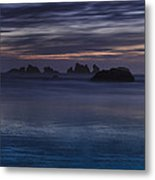 Oregon Coast After Sunset Metal Print by Andrew Soundarajan