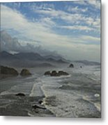 Oregon Coast Ecola 1 F Metal Print