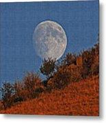 Oregon Moon Metal Print