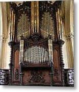 Organ Chapel Royal - Dublin Castle Metal Print