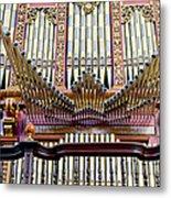 Organ In Cordoba Cathedral Metal Print