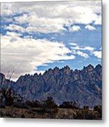 Organ Mountain Landscape Metal Print