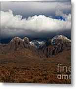 Organ Mountains New Mexico Metal Print