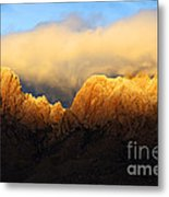 Organ Mountains Symphony Of Light Metal Print by Bob Christopher