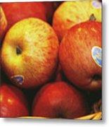 Organic Apples Metal Print