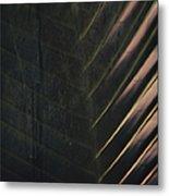 Organic Palm Metal Print
