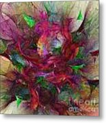 Orgy Of Colors Metal Print