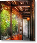 Orient - Continue On Metal Print
