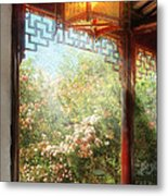 Orient - Lamp - Simply Chinese Metal Print