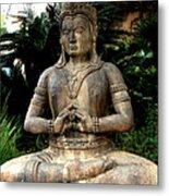 Oriental Statue Metal Print