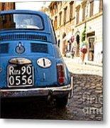 Original Fiat Metal Print by Arthur Hofer