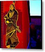 Original Homeland Security Santa Fe Metal Print