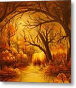 Hot Forest- Original Sold- Buy Giclee Print Nr 29 Of Limited Edition Of 40 Prints  Metal Print
