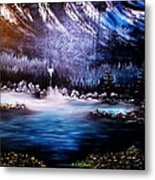 Winter Grace-original Sold-buy Giclee Print Nr 32 Of Limited Edition Of 40 Prints  Metal Print