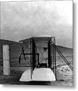 Original Wright Airplane, 1903 Metal Print