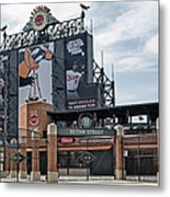 Oriole Park At Camden Yards Metal Print by Susan Candelario