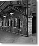 Oriole Park Box Office Bw Metal Print