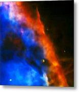 Orion Nebula Rim Metal Print