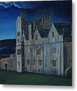 Ormonde Castle And Manor By Night Metal Print