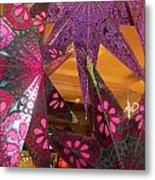 Ornamented Stars Metal Print