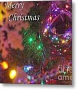 Ornaments-2090-merrychristmas Metal Print