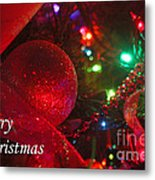 Ornaments-2107-merrychristmas Metal Print