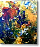 Ornaments On The Cow's Head Metal Print
