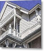 Ornate Balcony With View Metal Print