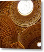 Ornate Ceiling Of Versailles Metal Print
