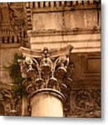 Ornate Column  Metal Print