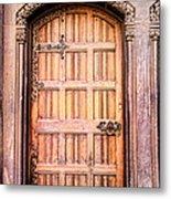 Ornate Door Metal Print