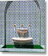 Ornate Fountain - Oman Metal Print