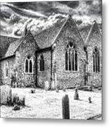 Orsett Church Essex England Metal Print