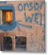 Orson Welles Depository Eleven Mile Corner Arizona 2004 Metal Print