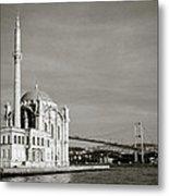 Ortakoy Mosque  Metal Print