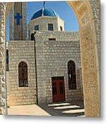 Orthodox Church Entrance Metal Print