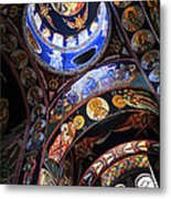 Orthodox Church Interior Metal Print