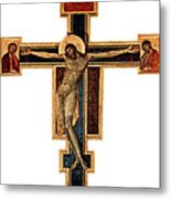 Orthodox Cross Metal Print