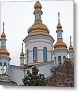 Orthodox Crosses Metal Print