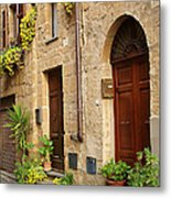 Orvieto Homes Metal Print