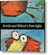 Orville And Wilburs First Flight Metal Print