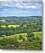 Osage County Lookout Metal Print