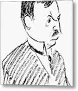 Oskar Pfister (1873-1956) Metal Print