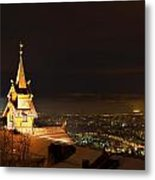 Oslo Evening Metal Print by Aaron Bedell