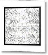 Osmosis Metal Print