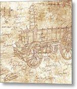 Ossewa Metal Print