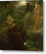 Ossian Conjuring Up The Spirits  Metal Print