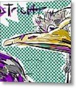 Ostrich Metal Print