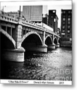 Other Side Of Town Metal Print